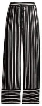 Trina Turk Women's Adonia 2 Pants - Black White - Size XS
