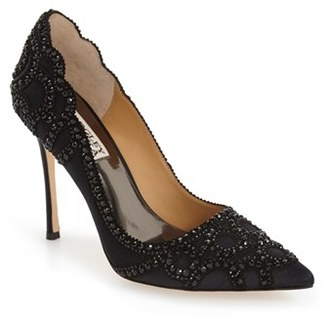 Women's Badgley Mischka 'Rouge' Pointy Toe Pump $255 thestylecure.com