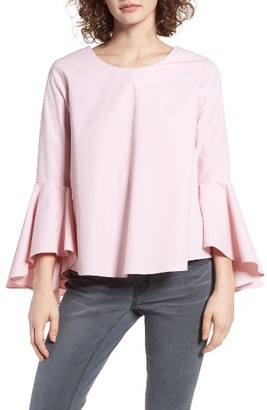 Women's Soprano Bell Sleeve Top $45 thestylecure.com