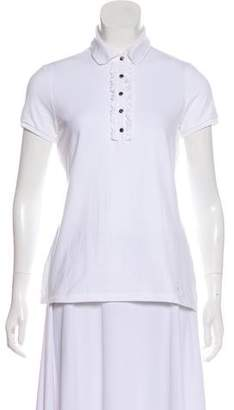 Burberry Short Sleeve Polo Top