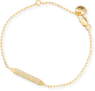 Neiman Marcus Cyn Mio Crystal Bar Station Bracelet
