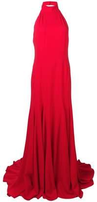 Stella McCartney Magnolia halterneck gown