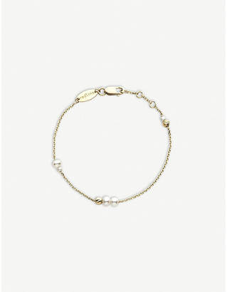 Redline The Alkemistry 18ct yellow-gold and pearl bracelet