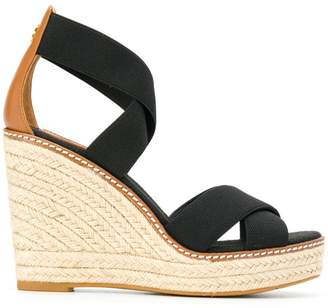 fa6a41a715deb9 Tory Burch Wedge Heel Sandals For Women - ShopStyle Australia