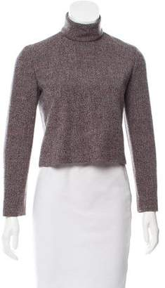 Calvin Klein Collection Long Sleeve Wool Top