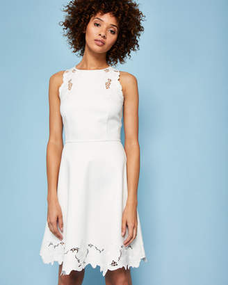 Ted Baker EMMONA Embroidered skater dress