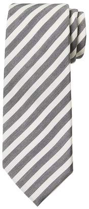 Banana Republic Bar Stripe Cotton-Silk Nanotex® Tie