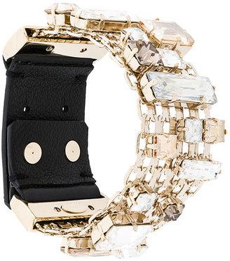 encrusted chain bracelet