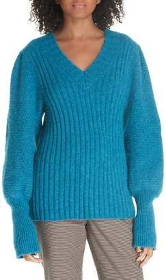 Rebecca Taylor Lofty Alpaca Wool Blend Sweater