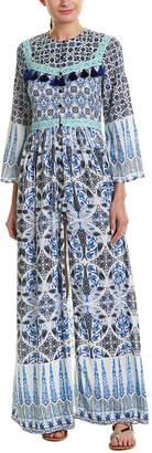 HEMANT AND NANDITA Ceramic Maxi Dress