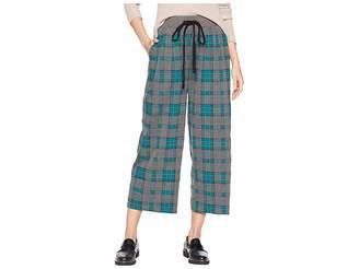 J.o.a. Pleated Drawstring Capri Pants
