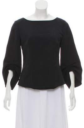 Tibi Long Sleeve Blouse