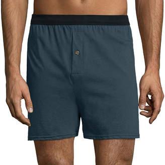 Hanes Men's FreshIQ ComfortFlex Waistband Knit Boxer 3-Pack - Big