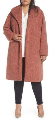 Halogen Faux Fur Coat