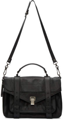 Proenza Schouler Black Medium PS1 Satchel