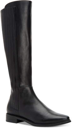 Calvin Klein Women's Finley Wide-Calf Boots Women's Shoes