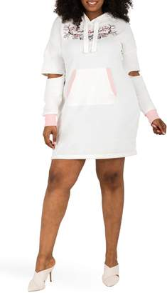 Justice Poetic Cylene Hoodie Dress