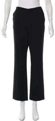 Issey Miyake Mid-Rise Wide-Leg Pants