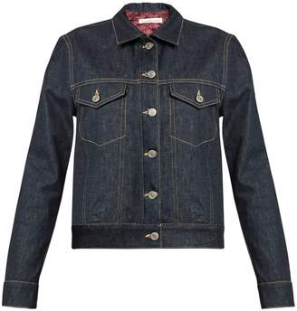Golden Goose Tea padded-lining denim jacket