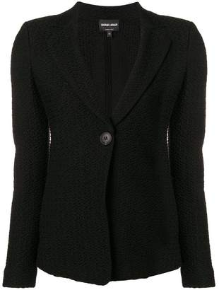 Giorgio Armani single button blazer