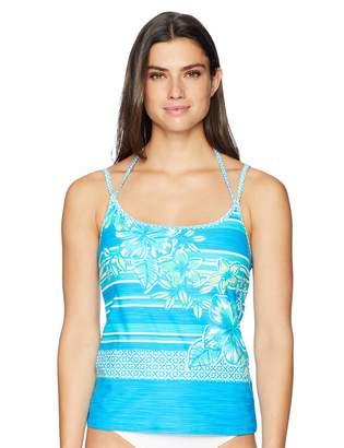 Beach House Women's U Neck Underwire Tankini Swimsuit Top