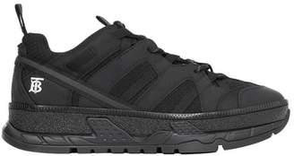 Monogram Motif Mesh And Nubuck Sneakers