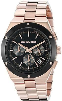 Michael Kors Women's Reagan Rose Gold-Tone Watch MK6208