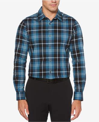 Perry Ellis Men's Classic Plaid Shirt