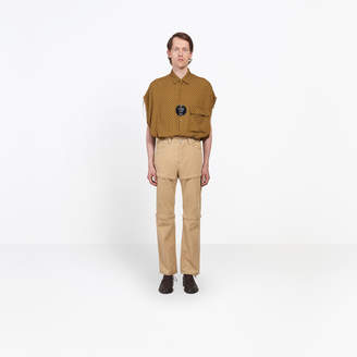 Balenciaga Zipped 3 in 1 corduroy regular pants