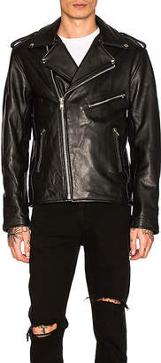 Understated Leather Easy Rider MC Jacket