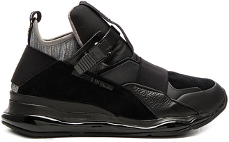Alexander McQueen Puma MCQ Cell Bubble Runner Mid $230 thestylecure.com