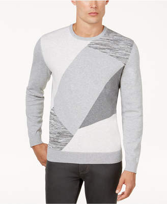 Alfani Men's Angled Colorblocked Sweater