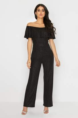 Girls On Film Outlet Black Jumpsuit