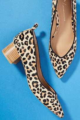 Anthropologie Beatriz Block Heels