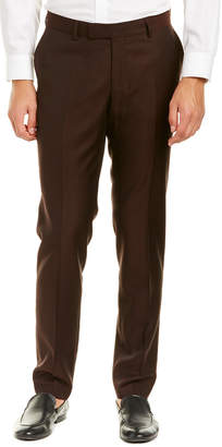 The Kooples Deep Caviar Fitted Wool Pant
