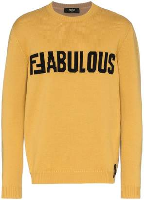 Fendi two-tone 'FFabulous' jumper