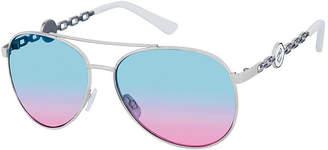 Rocawear Womens Full Frame Aviator UV Protection Sunglasses