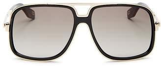 Marc Jacobs Brow Bar Square Sunglasses, 60mm