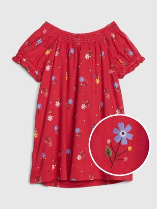 Gap Baby Floral Smocked Dress