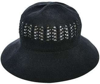 Cogit (コジット) - シワになりにくい風通るUV帽子 ブラック
