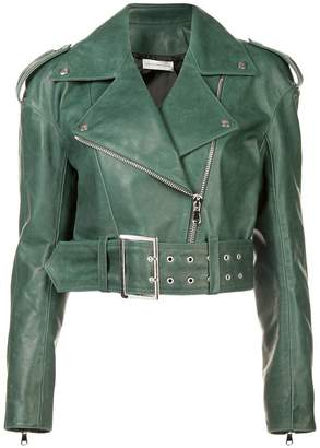 Faith Connexion cropped biker jacket