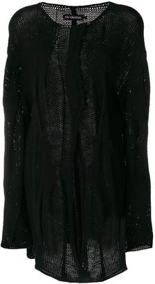 Ivan Grundahl cable knit asymmeric cardigan