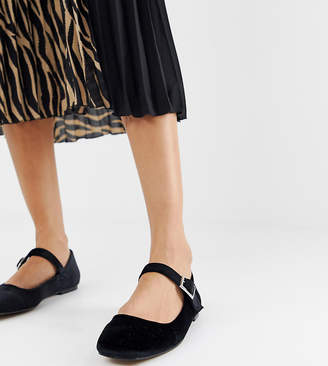 fdf15b024411 Asos Design DESIGN Links mary jane ballet flats