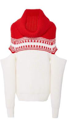 Monse Slashed Sleeve Sweater