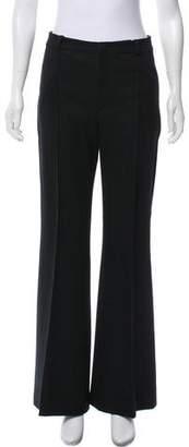 Bouchra Jarrar Wool Mid-Rise Pants