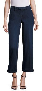 NYDJ Mila Wide-Leg Ankle Jeans $124 thestylecure.com
