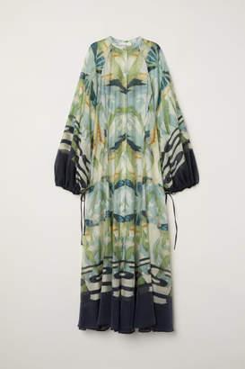 H&M Lyocell-blend Dress - Gray