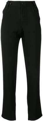 Yohji Yamamoto slim-fit trousers