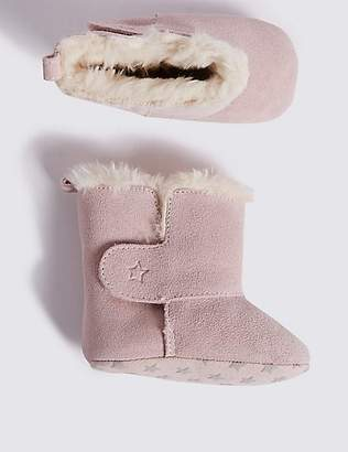 Marks and Spencer Baby Suede Booties