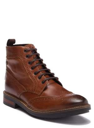 Base London Hopkins Leather Wingtip Boot